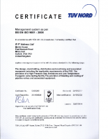 ISO 9001 2008 exp 23.10.2017