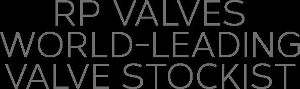 RPV - World Leading Valve Stockist